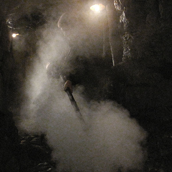 Steam special effects lance for the mine scene in The Way Back.